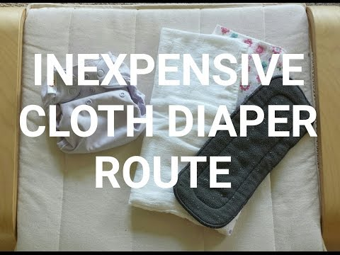 INEXPENSIVE CLOTH DIAPER ROUTE