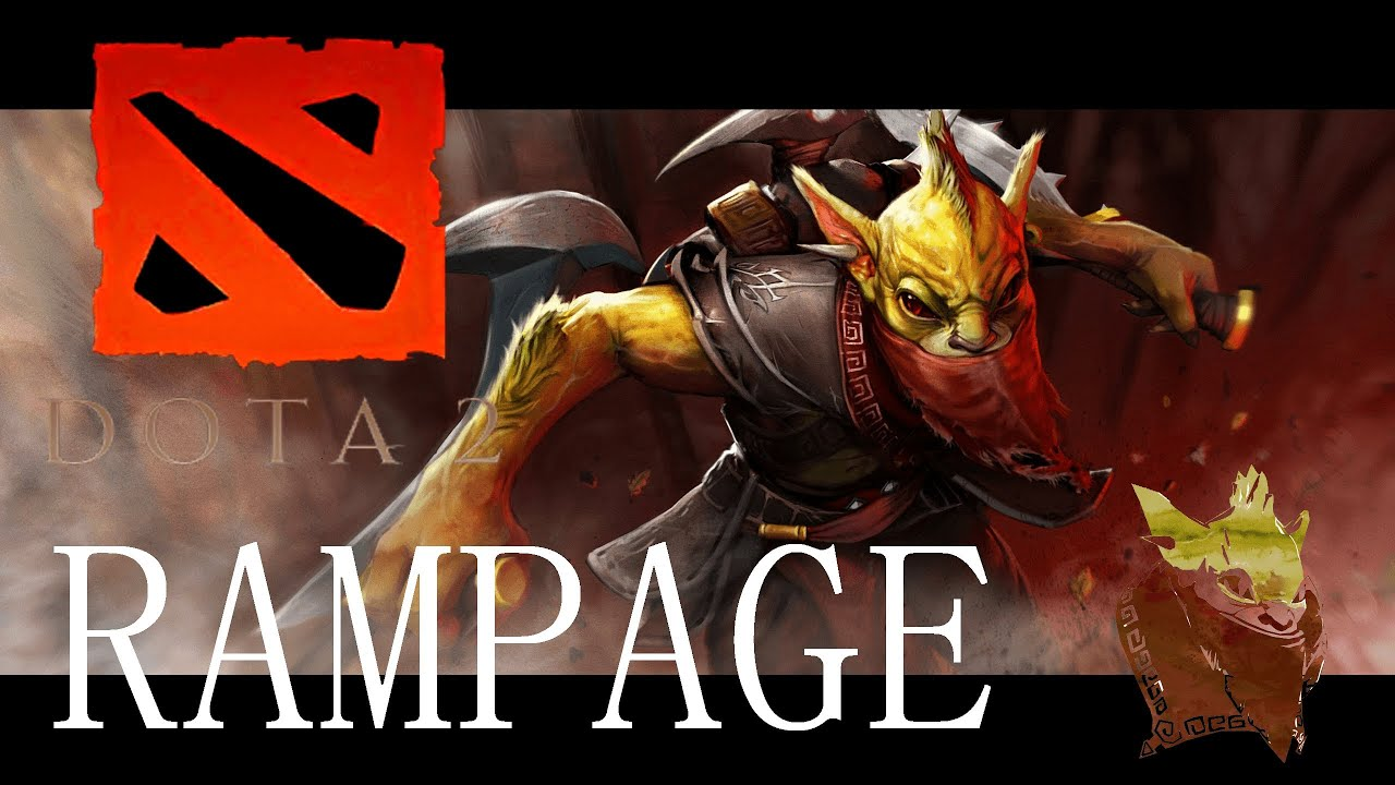 dota 2 bounty hunter rampage with some epic music youtube