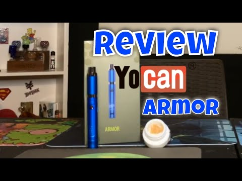 YOCAN ARMOR WAX PEN REVIEW – TRULIEVE TRUWAX – HOW TO USE A WAXPEN!!