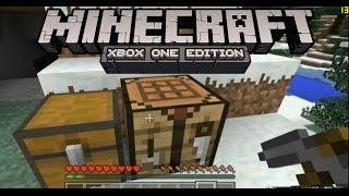 Minecraft XBOX ONE GAMEPLAY (10 Minutes + Analysis)