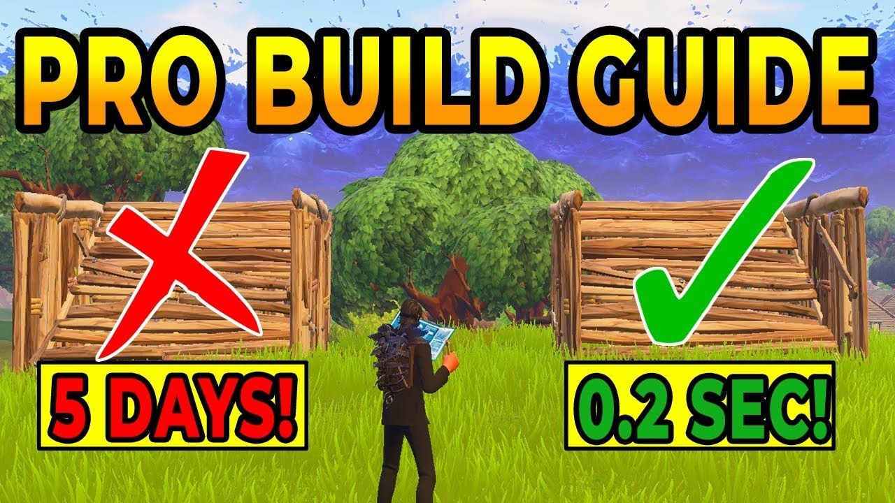 How to BUILD LIKE A PRO In Fortnite Battle Royale (Best ...