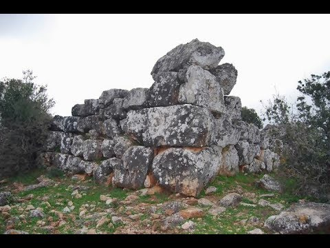 Khirbet Tefen Megalithic site of Canaan land