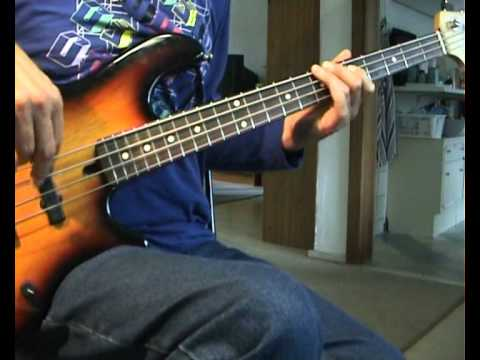 Robert Cray - Smoking Gun - Bass Cover