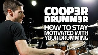 How To Stay Motivated with Your Drumming! - FREE Drum Lesson