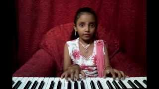 Dakshinya playing Thandavam theme music