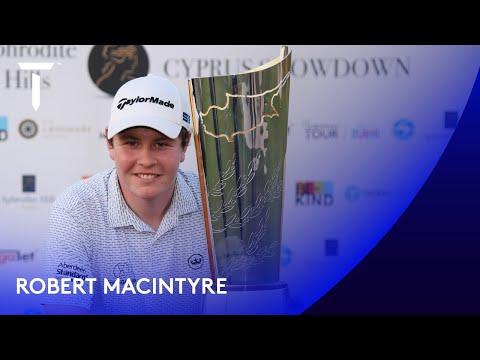 Robert MacIntyre wins first European Tour title | 2020 Aphrodite Hills Cyprus Showdown