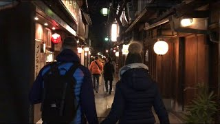 夜の祇園 Kyoto Gion Night Walk 【4K】