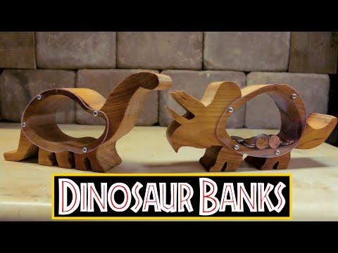 Dinosaur Piggy Banks- How to Make
