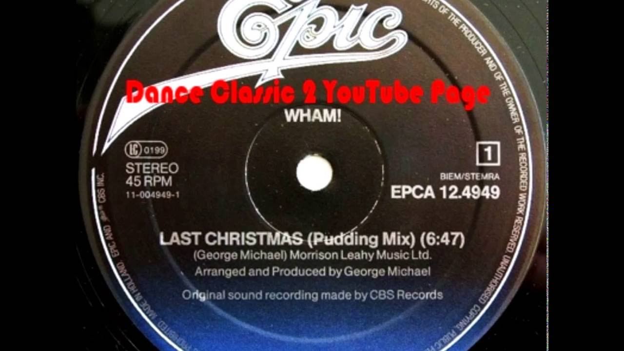 Wham! - Last Christmas (Pudding Mix) - YouTube