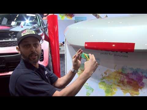 FESPA World Wrap Masters Wrap Training Workshop: Cutting Down On Cutting