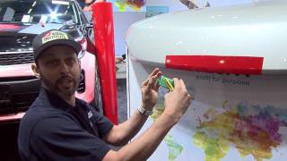 FESPA World Wrap Masters Wrap Training Workshop: Cutting Down On Cutting