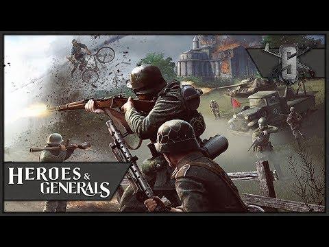 Mosin Nagant Iron Sights Sniper - Heroes and Generals Recon Gameplay