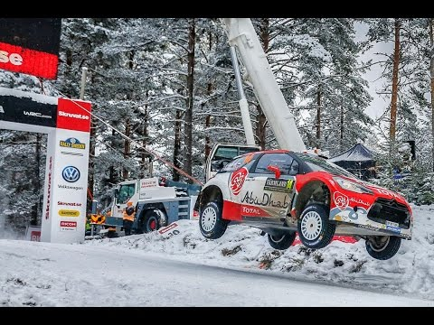 Rally Sweden 2016 - Day 2 - Abu Dhabi Total WRT