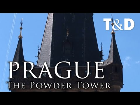 Praga Old Town City Guide: The Powder Tower - Travel And Discover