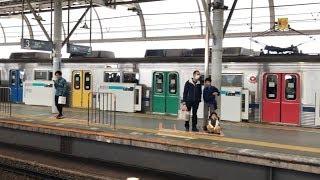 【カラフルなドア】東急田園都市線8637F