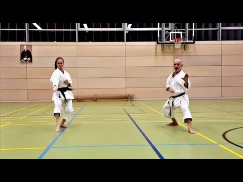 Bassai dai (Shito ryu & Shotokan Version)