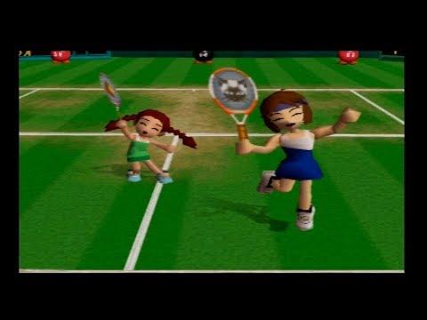 Mario Tennis 64 Star Tournament Doubles NinaKate
