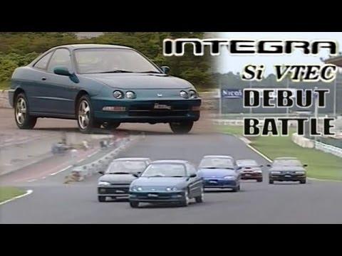 [ENG CC] New Integra Si VTEC vs. fastest FF squad in Tsukuba 1993