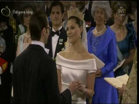 Sweden Swedish Royal Wedding Princess Victoria Of And Daniel Kungliga Bröllopet