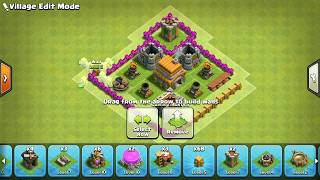 Clash of Clans Town Hall 6 Defense (CoC TH6) BEST Hybrid Base Layout Defense Strategy||COC 2017
