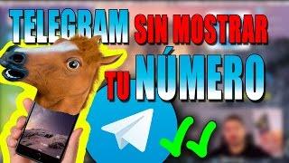 Cómo usar Telegram con apodo sin dar el número de teléfono
