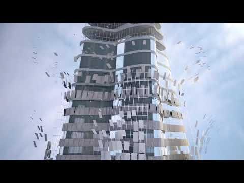 Cerámica gran formato para fachadas ventiladas