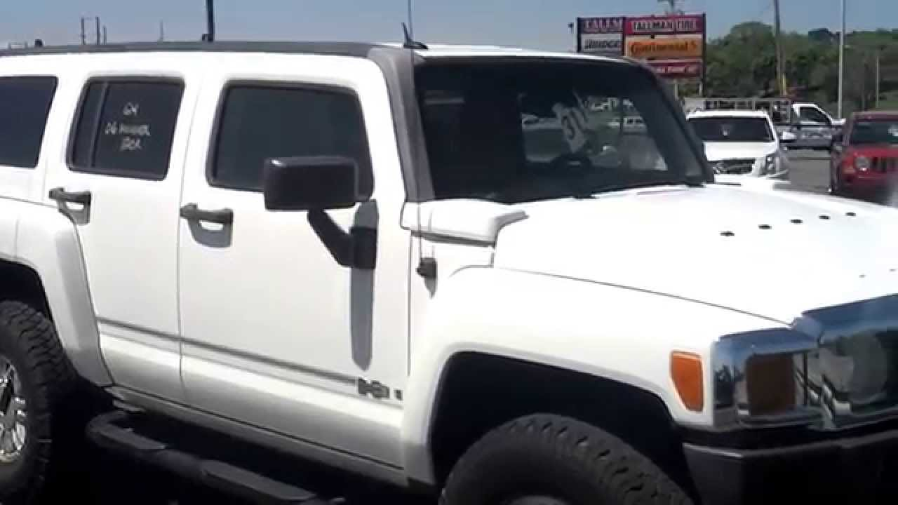 2006 hummer h3 4x4 review youtube rh youtube com 2008 Hummer H3 Alpha White 2008 Hummer H3 Black