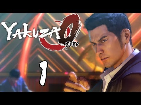 Let's Play Yakuza 0 [Blind] - #1 | Welcome To Kamurocho