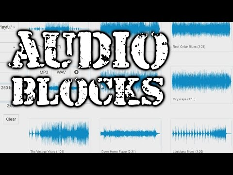 Audioblocks: Royalty-Free Music, Sound, and Loop Library