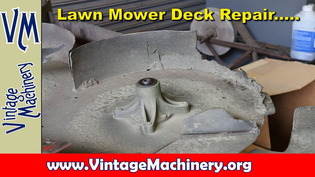how to fix a riding lawn mower