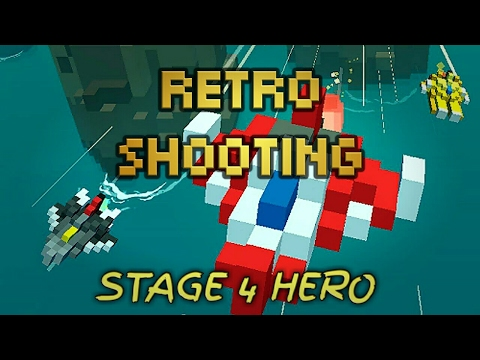 Never underestimate the Bosses - stage 4 HERO - Retro Shooting #4 | SnizelSuarez