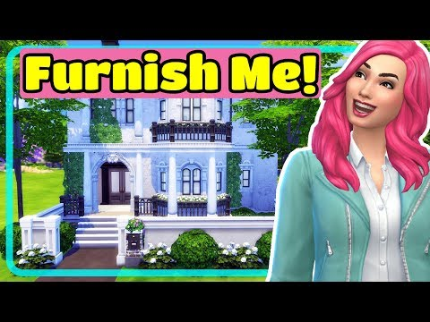 The Sims 4 Traditional Victorian Home Converted to Modern Family House - Furnish Me!