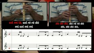 A Thousand Years - Christina Perri - Karaoke para 2 flautas - Educação Musical