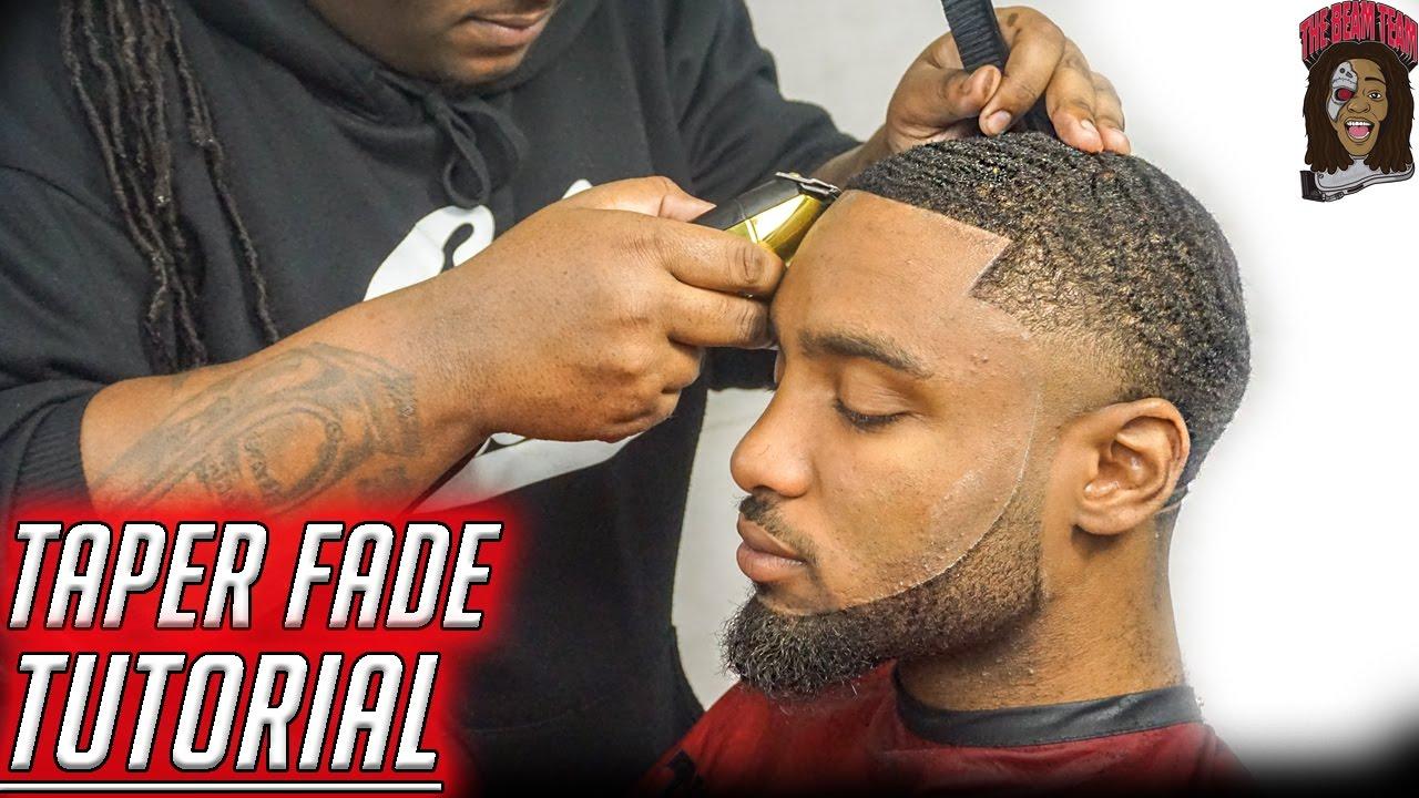 Barber Tutorial How To Cut A Dark Caesar W Bald Taper Youtube
