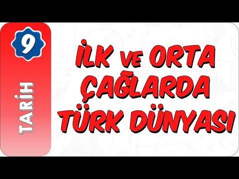 9. Sınıf Tarih | İlk Ve Orta Çağlarda Türk Dünyası