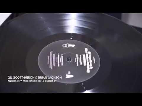 Vinyl Factory's Gil Scott-Heron vinyl promo reel