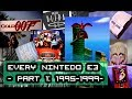 EVERY NINTENDO E3 1995-1999 (Part 1): Ultra 64. N64 Reveal, Super Mario 64, Zelda OOT + MUCH MORE