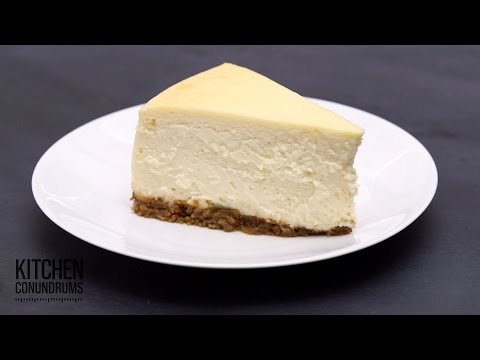 The Method Behind a Crack-Free Cheesecake – Kitchen Conundrums with Thomas Joseph