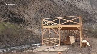 «Քարերի սիմֆոնիայի» դիմաց կատարվող շինարարական աշխատանքները կասեցվել են
