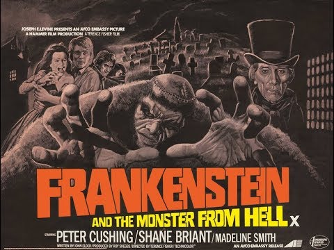 Hammer Horror Film Reviews - Frankenstein and the Monster From Hell (1974)