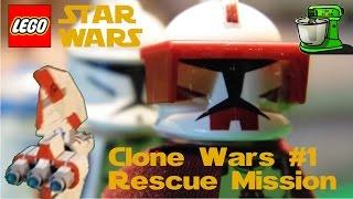 [Lego] Звёздные Войны: Война Клонов #1 - Спасательная Операция