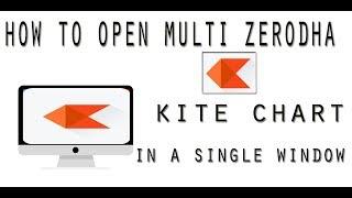 How To Open Zerodha Kite Multi Chart In  a Single Window