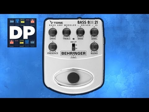 Behringer BASS BDI 21 Pedal Demo Review