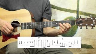 Kentucky Waltz Solo - Guitar Lesson