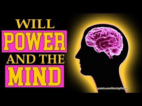 How To Use Will Power. Subconscious Mind Power, Law of Attraction, Wealth