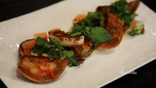 Breville -- Road To The Recipe: Chef Mike Anthony's Roasted Eggplant Salad With Miso