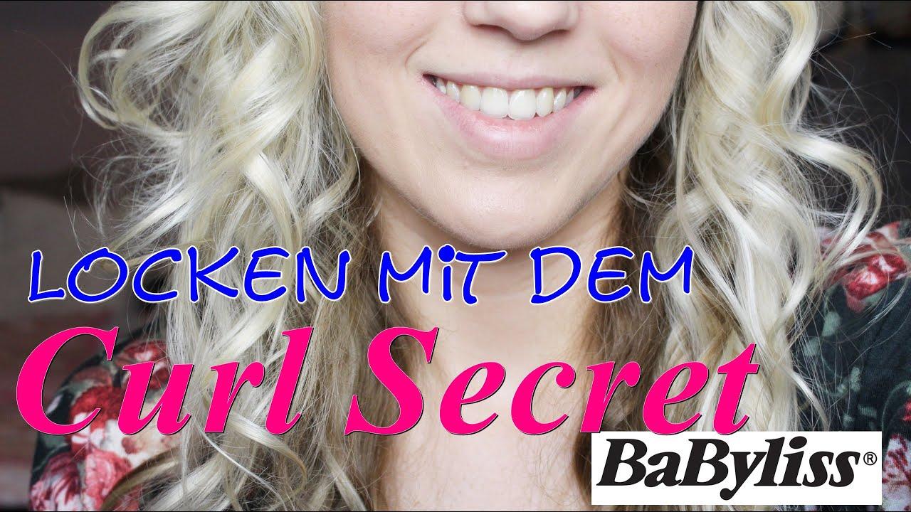 Babyliss Curl Secret im TEST  blitzschnelle Locken  Belle Lu  YouTube