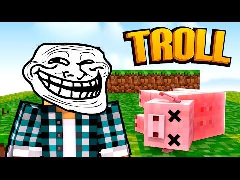 Minecraft: O PORCO MORREU !! - (Minecraft Troll)