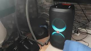 JBL Partybox 100 with subwoofer bass test