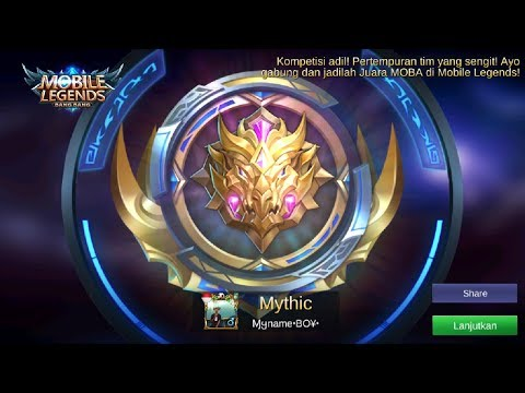 HARUS WINSTREAK LAGI MALEM INI PUSH RANK MYTHIC!!!!  MOBILE LEGENDS BANG BANG!!